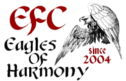 efc eagles of harmony logo